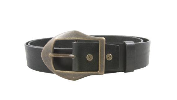 Cintura in pelle da uomo