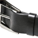 Cintura in cuoio, interamente Made in Italy, la Fibbia è in lega di zama colore canna di fucile.